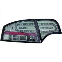 Kit de feux arrières version LED gris fumée AUDI A4 de 04 à 07