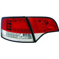 Kit de feux arrières version LED blanc AUDI A4 de 05 à 08