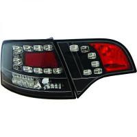 Kit de feux arrières version LED noir AUDI A4 de 05 à 08