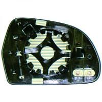 Miroir (asphérique) de rétroviseur coté droit AUDI A4 de 09 à 11