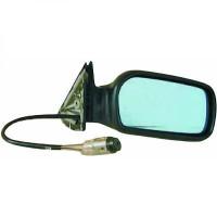 Rétroviseur extérieur gauche teinté en bleu AUDI 10 de 91 à 94 - OEM : 320808