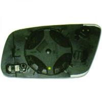Miroir (asphérique) de rétroviseur coté gauche AUDI A6 de 99 à 04 - OEM : 8D0857535AJ