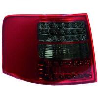 Kit de feux arrières version LED rouge/noir AUDI A6 de 97 à 04