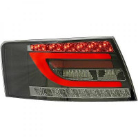 Kit de feux arrières aspect mat noir AUDI A6 de 04 à 08