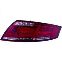 Kit de feux arrières rouge gris fumée AUDI TT de 06 à 14