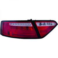 Kit de feux arrières rouge gris fumée AUDI A5 de 07 à >>