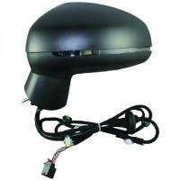 Rétroviseur extérieur droit convexe AUDI A1 de 2010 à >> - OEM : 8X1857410K9B9