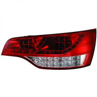 Kit de feux arrières version LED blanc/rouge AUDI Q7 de 05 à 09