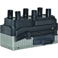 Bobine d'allumage Complément : avec contrôle Équipement : pour modèle non équipé de distributeur d'allumage de 91 à >> - OEM : 021 905 106A