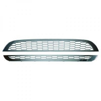 Grille de calandre chrome Slt. disponible en kit: MINI Cooper de 01 à 06 - OEM : 51137026202