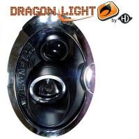 Set de deux phares principaux H1/H1 avec correcteur MINI Cooper de 01 à 06