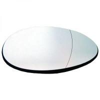 Miroir (asphérique) de rétroviseur coté gauche MINI Cooper de 07 à 11 - OEM : 51162755625