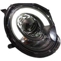 Set de deux phares principaux H9 avec correcteur MINI Cooper de 06 à 10