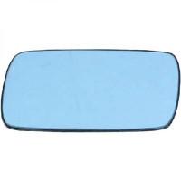 Miroir (bleuté) de rétroviseur coté gauche BMW Série 3 (E30) de 82 à 94 - OEM : 51161901176