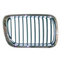 Grille de calandre droit chromé BMW Série 3 (E36) de 91 à 96 - OEM : 51138122238