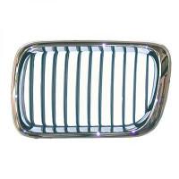 Grille de calandre gauche chromé BMW Série 3 (E36) de 96 à 99 - OEM : 5113-8195-151