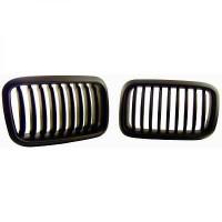 Set des deux grilles de calandre noir BMW Série 3 (E36) de 91 à 96
