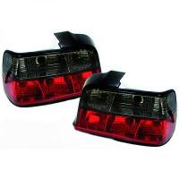 Kit de feux arrières rouge/noir brillant BMW Série 3 (E36) de 90 à 97