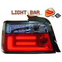 Kit de feux arrières version LED noir BMW Série 3 (E36) de 90 à 97
