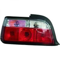 Kit de feux arrières blanc/rouge BMW Série 3 (E36) de 90 à 97