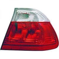 Kit de feux arrières blanc rouge BMW Série 3 (E46) de 98 à 01
