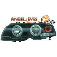 Set de deux phares principaux H1/H1 avec correcteur BMW Série 3 (E46) de 99 à 03