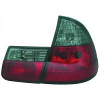 Kit des 4 feux arrières rouge BMW Série 3 (E46) de 98 à 5