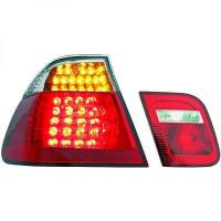 Kit de feux arrières blanc/rouge droit + gauche BMW Série 3 (E46) de 01 à 05