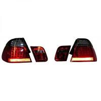 Kit de feux arrières gris droit + gauche BMW Série 3 (E46) de 01 à 05