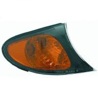 Feu clignotant droit noir BMW Série 3 (E46) de 01 à 05 - OEM : LLD772