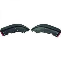 Spoiler déflecteur bouclier avant Impression optique: carbone BMW Série 3 (E46) de 01 à >>