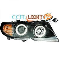 Set de deux phares principaux H7/ H1 avec correcteur BMW Série 3 (E46) de 01 à 7+