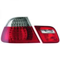 Kit de feux arrières gauche/droit LED BMW Série 3 (E46) de 03 à 06