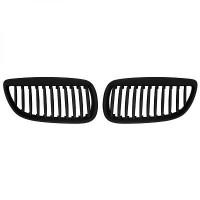 Set des deux grilles de calandre noir BMW Série 3 (E90, E91) de 06 à 10