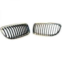 Grille de calandre chrome/noir BMW Série 3 (E90, E91) de 08 à >>