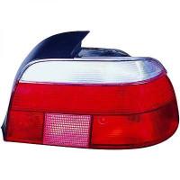Feu arrière gauche blanc BMW Série 5 (E39) de 95 à 00 - OEM : 63212496297