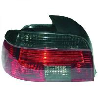Kit de feux arrières rouge/noir BMW Série 5 (E39) de 95 à 00