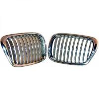 Set grilles de calandres droite et gauche noir BMW Série 5 (E39) de 95 à 03