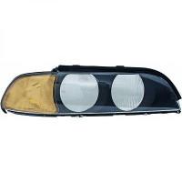 Disperseur simple pour phare gauche BMW Série 5 (E39) de 95 à 00 - OEM : 63318362831