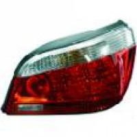 Feu arrière gauche rouge BMW Série 5 (E60, E61) de 03 à 07 - OEM : 63217165737