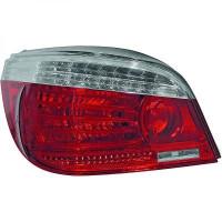 Kit de feux arrières version LED chrome BMW Série 5 (E60, E61) de 03 à 07
