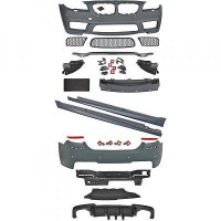 Kit Tuning pare chocs avant arrière bas de caisse BMW Série 5 (F10) look M5 de 2010 à 2013
