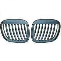 Set grilles de calandres droite et gauche chrome BMW Z3 (E36) de 96 à 05