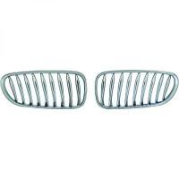 Set grilles de calandres droite et gauche chrome BMW Z4 (E85) de 03 à 09