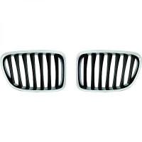 Set des deux grilles de calandre look M BMW X1 (E84) de 09 à >>
