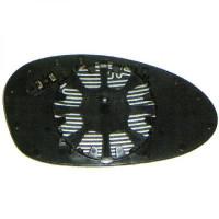 Miroir de rétroviseur coté (asphérique) droit BMW Série 1 (E81, E82, E88) de 04 à 09 - OEM : 51167145268