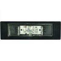 Feu éclaireur de plaque gauche ou droit BMW Série 1 (E81, E82, E88) de 07 à >> - OEM : 63267193294