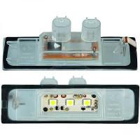 Feu éclaireur de plaque Version LED BMW Série 1 (E81, E82, E88)
