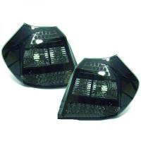 Kit de feux arrières version LED noir BMW Série 1 (E81, E82, E88) de 04 à 07