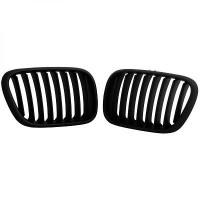 Set grilles de calandres droite et gauche noir BMW X5 (E53) de 99 à 03